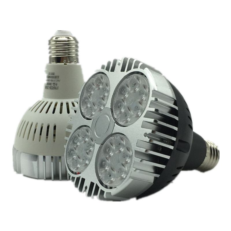 New Ultra Bright E27 PAR20 Par30 PAR38 LED Light Bulb Lamp 85-265V 35W LED SpotLight Lamp Bulbs Indoor Lighting free shipping 20w cob led light par38 e27 spotlight 90 100lm w par38 lamp dimmable led bulb warm cold white ac85v 265v 20pcs lot