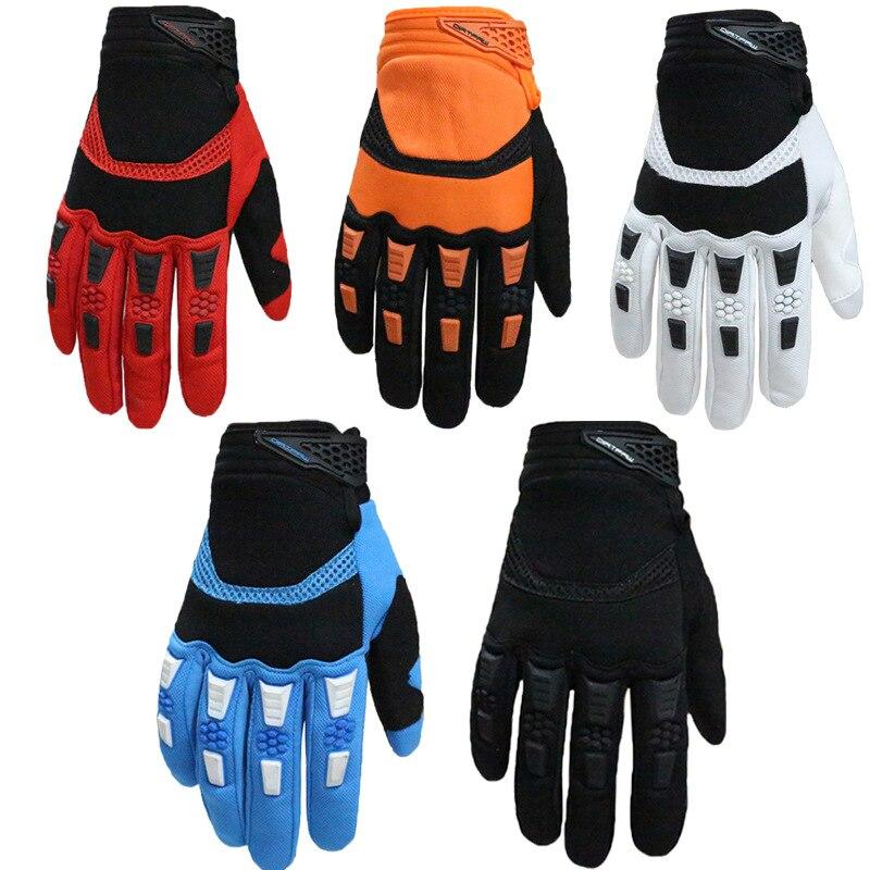 1 paire de gants de cyclisme hommes doigt complet sport vélo vélo hiver garder au chaud Anti Slip Gel Pad vtt maille course moto gants