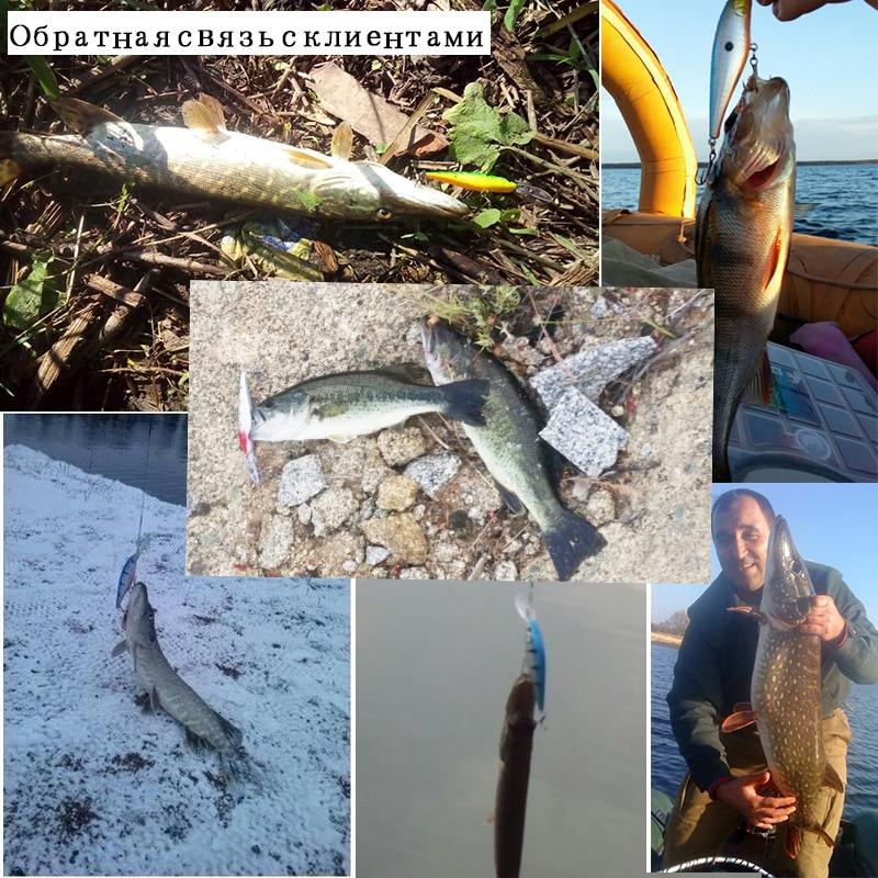 Minnow Super Long Cast Fresh Salt Water Bass Fishing Lure 11cm 13g 1 Pcs//Lot
