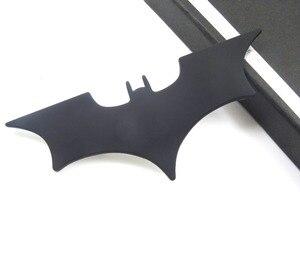 Image 2 - Auto In Metallo Batman Adesivi Per Auto 3D Tre dimensionale Adesivi Decorativi Batman Superman Etichettatura Coda di Auto Autoadesivi Del Corpo di Styling