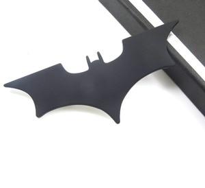 Image 2 - Car Metal Batman Car Stickers 3D Three dimensional Decorative Stickers Batman Superman Labeling Car Tail Body Stickers Styling