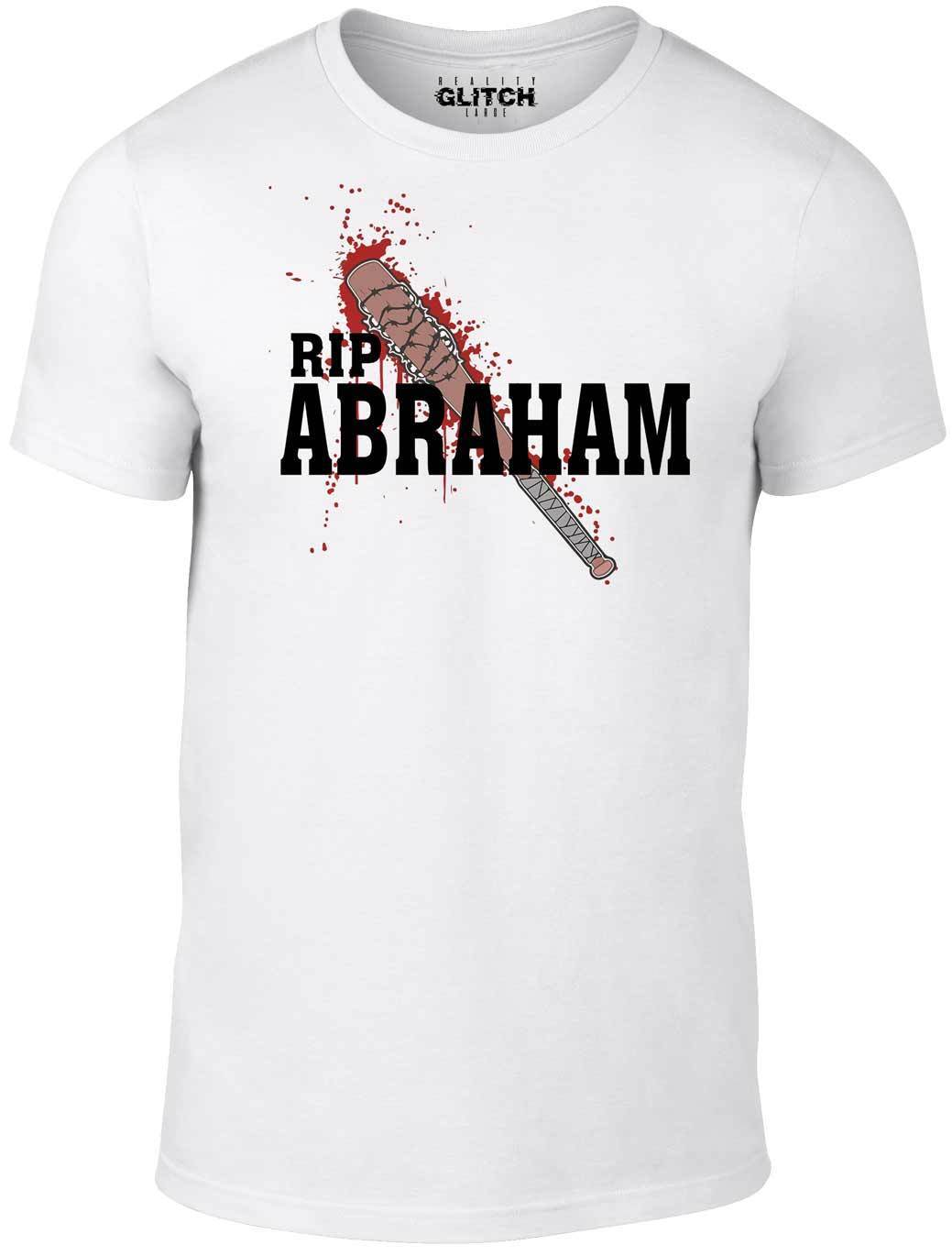 R.I.P Abraham T-Shirt - Inspired by Walking Dead Walkers Zombies Negan Grimes TV