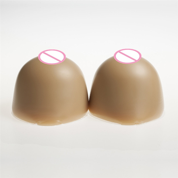 Brown Huge Cup Silicone Breast Prosthesis Insert Enhancer Pad 3200g/Pair Shemale Realistic Breast Forms Crossdresser Boobs