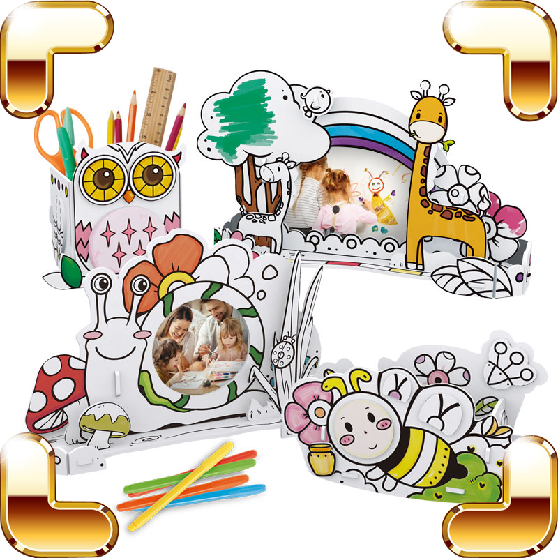 New Arrival Gift 3D DIY Draw Puzzles Animal Style Pen