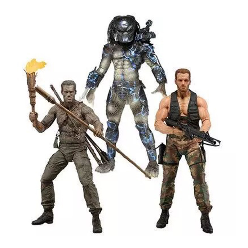 Alien 25th Water Emergence Jungle Disguise Encounter Dutcch PVC Action Figure Collectible Model Toy 7