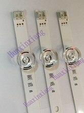 """3 adet/grup TV arkaplan ışığı şeritler 6 LED Için LG innotek ypnl Drt 3.0 32 """"32MB25VQ 6916l 1974A 1975A 1981A 32LF5800 32LB5610"""