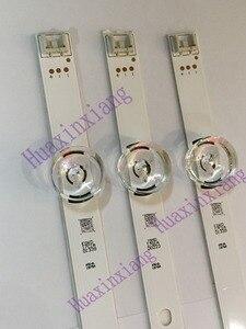 """Image 1 - 3 adet/grup TV arkaplan ışığı şeritler 6 LED Için LG innotek ypnl Drt 3.0 32 """"32MB25VQ 6916l 1974A 1975A 1981A 32LF5800 32LB5610"""