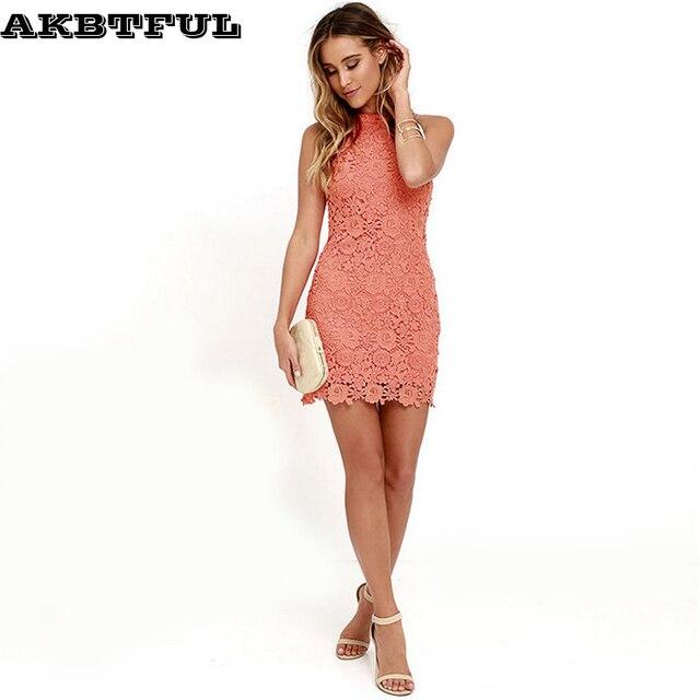 2017 Summer Halter Dress Women Sexy Sleeveless Solid Slim Plus Size