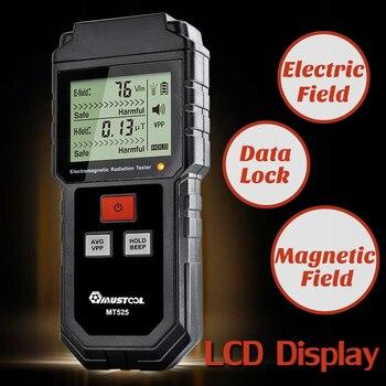 Mini Campo de Proteção de Blindagem de Radiação Eletromagnética Detector EMF Tester Medidor de LCD Digital de Medição para o Telefone Do Computador