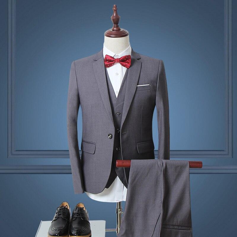 2016 New Men Suits Trend Brand Suits Jacket Formal Dress Men Suit Set Men Wedding Suits Groom ...