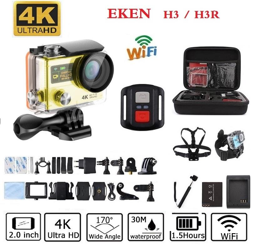 Prix pour D'origine EKEN H3/H3R D'action caméra à distance Sport caméra HD WiFi 1080 P écran 2.0 170D aller 30 M étanche pro caméra