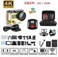 Original EKEN H3/H3R remoto da câmera de Ação Esporte camera Wi-fi HD 1080 P tela 2.0 170D ir 30 M à prova d' água pro câmera