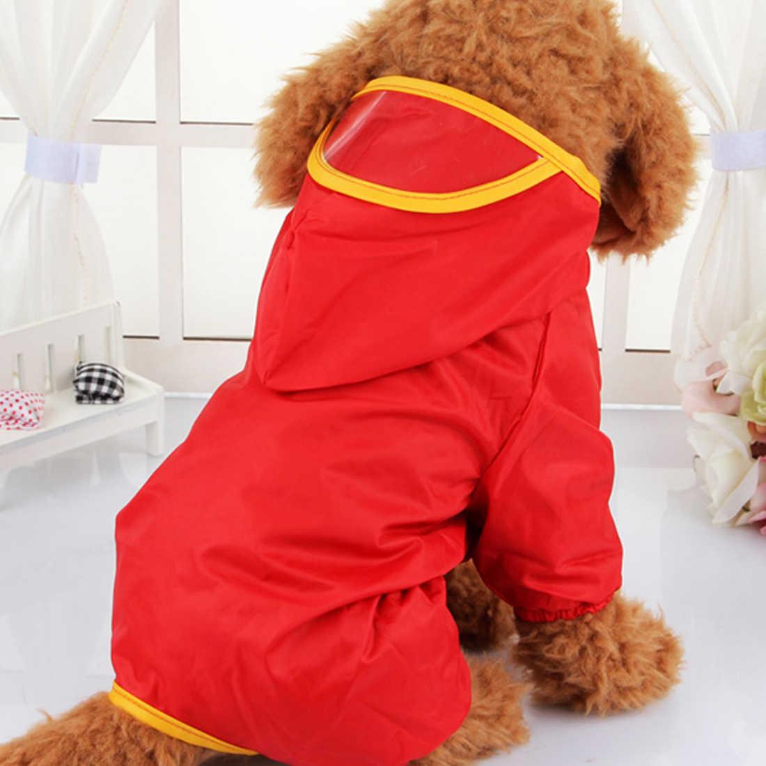 Hond Kleding voor Honden Puppy Regenjas Outdoor Wandelen Waterdichte Regenhoes Water Bescherming Kleding voor Kleine Grote Hond