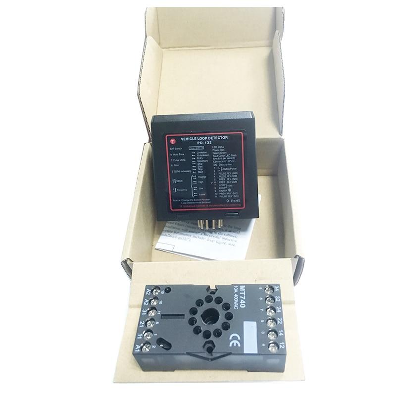dip switch gate loop detector single channel/Sensor de masa vehicular para barrera de control de acces stc15f104e 35i dip 15f104 dip8
