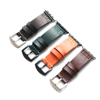 2018 New high quality Leather Men's woman Watch Band Strap for Apple Watch 38/42mm Watch Belt Bracelet for iwatch Series 1 2 3