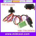Nova Heater Fan Blower Motor Resistor Regulador uso OE NO. 7701207876 para Renault Logan Clio I Kangoo