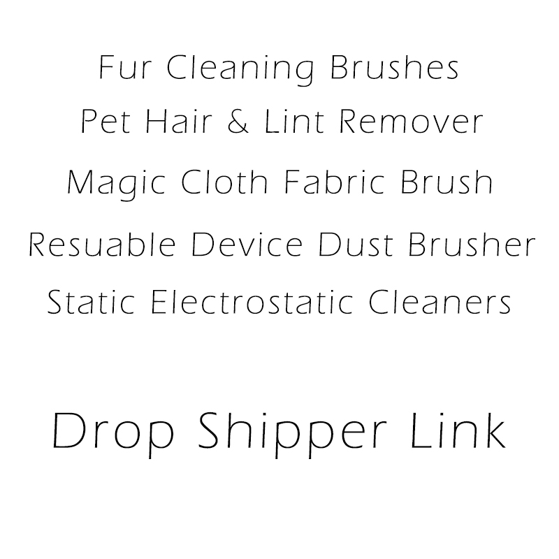 Fur Cleaning Brushes Pet Hair Lint Remover Dust Brusher Static Electrostatic Cleaner Magic Cloth Fabric Brush Reusable Device