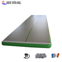 Fedex shipping 6*1m inflatable air track for home use (Free pump + repair kits)