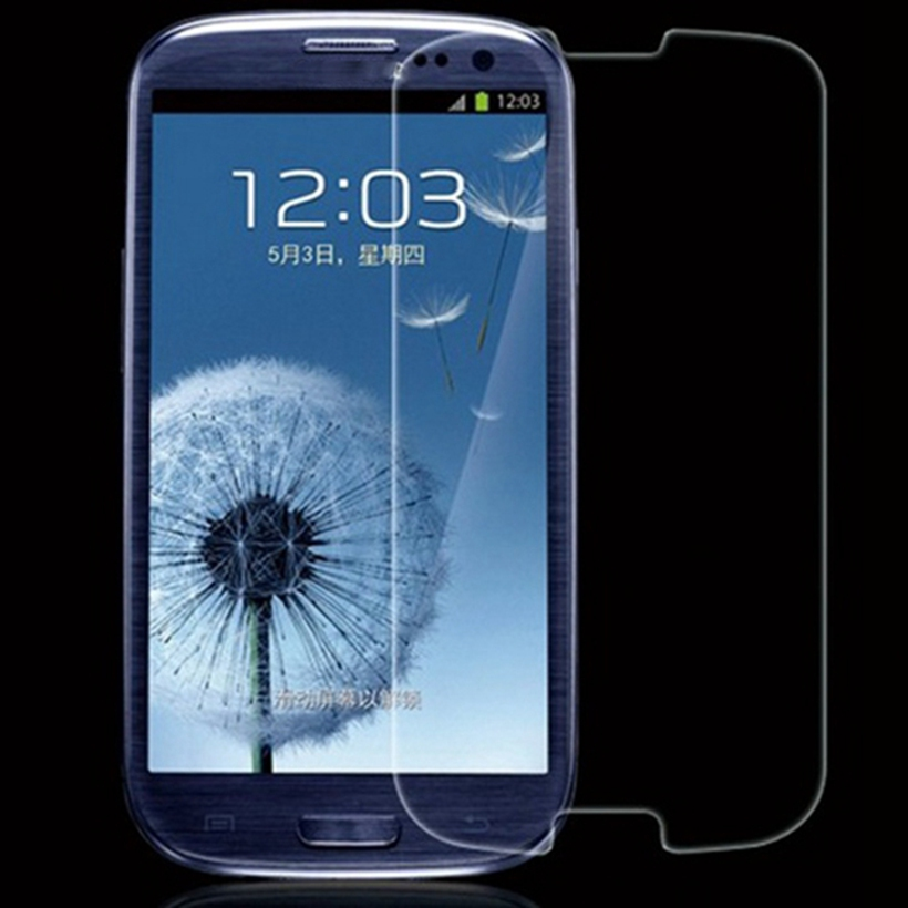 LCD Tempered <font><b>Glass</b></font> Protector Phone Film For <font><b>Samsung</b></font> Galaxy <font><b>S3</b></font> <font><b>Neo</b></font> S III i9300 Duos i9300i i9301 i9305 Toughened Protective Guard image