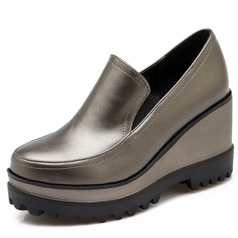Online Buy Wholesale gray wedge shoes from China gray wedge shoes