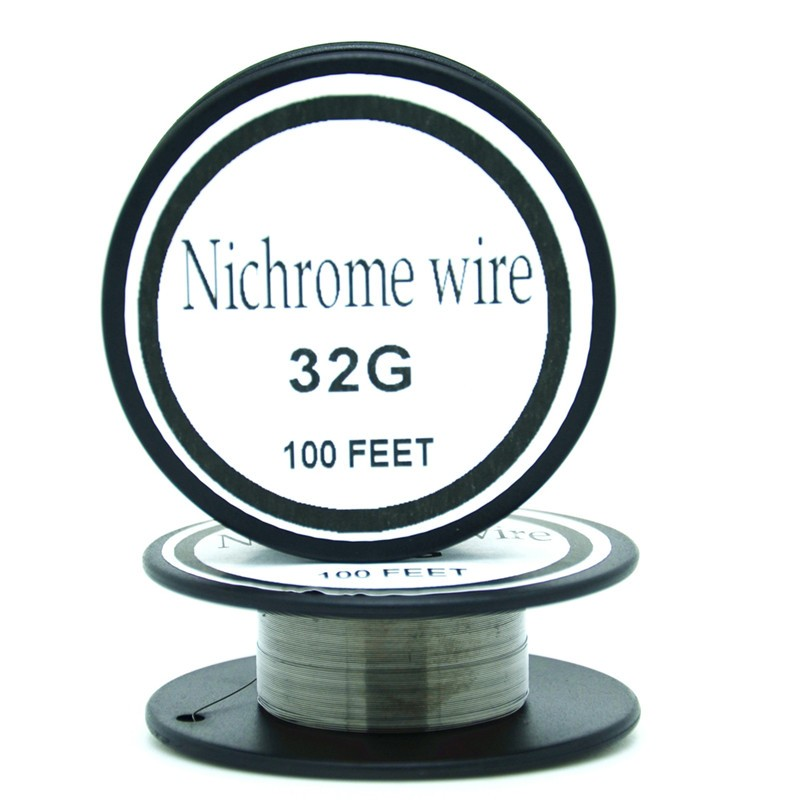 Electronic cigarette heating wire 32 Gauge 100 FT 0.2mm heating wire for RDA RBA Rebuildable Atomizer Coil E-Cigarette Vaporiz