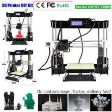 ctc W5 3D Printer Reprap Prusa i3 DIY MK8 LCD printer 3d Drucker Impressora Imprimante Resume Power Failure Printing 3d printer prusa i3 reprap mk8 mk2a heat bed lcd screen imprimante impresora 3d drucker