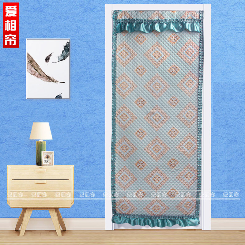 Curtain Diy For Hotel Supermarket Geometric Cotton Curtain