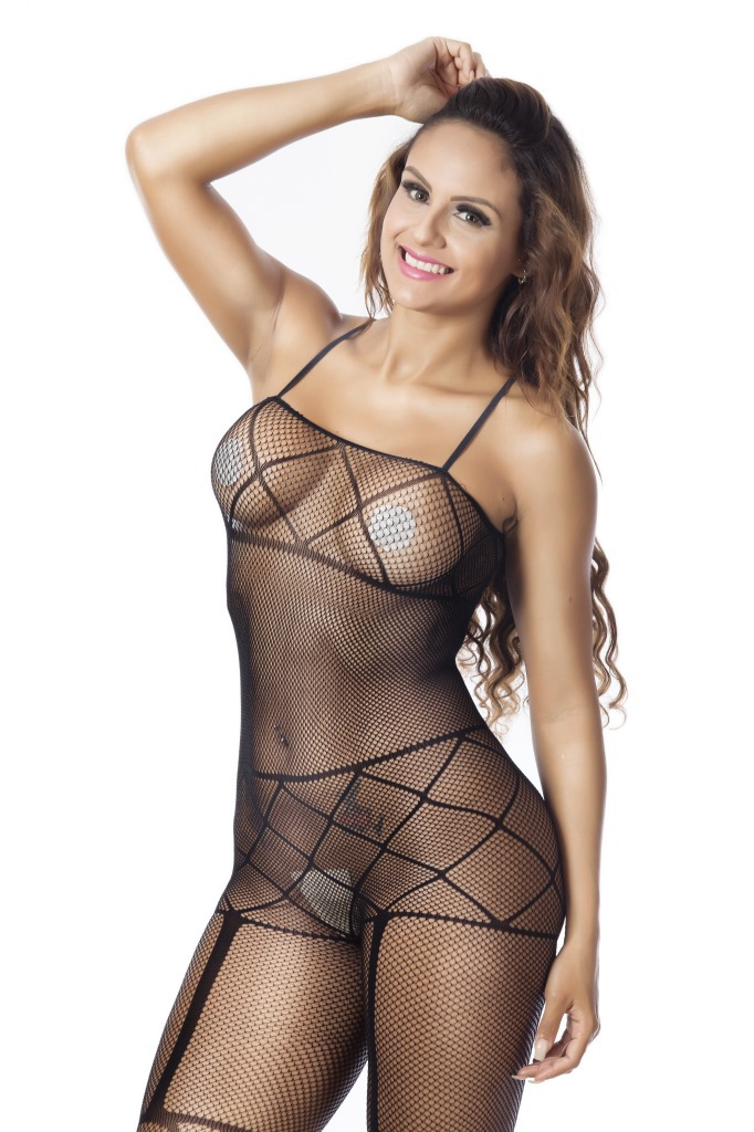 Lingerie Lace Babydoll Sexy Open Bra Crotch Bodystocking Nightwear Sex Set Women