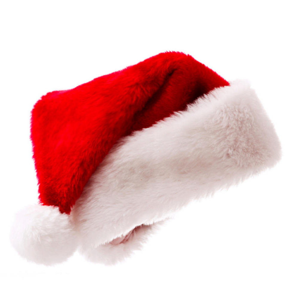 Womens Christmas Hat Caps Santa Claus Xmas Cotton Cap Christmas ...