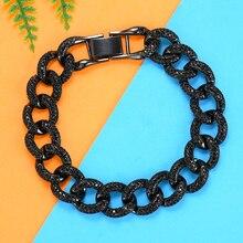 GODKI Trendy Punk Bracelets for Women Delicate Link Chain Bracelet Beads Charm Bracelet Bohemian Beach Jewelry
