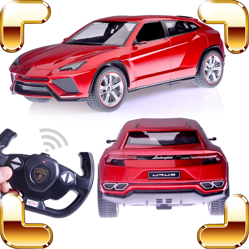 New Arrival Gift URUS 1/14 RC Model SUV Remote Control Vehicle Toys Rechargeable Car Speed Racing Jeep For Boys Race Machine new year gift 1 14 murcielago rc speed roadster car remote vehicle perfect drift for fun electric model boy toys race