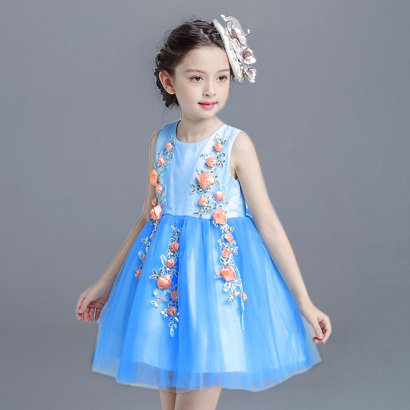 Baby Girls Dress 2017 Summer Party Dresses Girls Clothes Tutu Wedding Dress Girls Kid ChiClothing Roupas Infantis Menina 13 14 T aoc i2481fxh 23 8 монитор black
