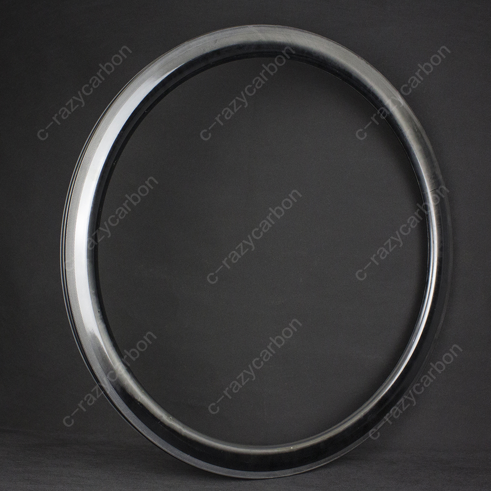 Carbon UD 700C Carbon 38 50 60 90mm Depth Road Rims Free Coating in 25 Outer