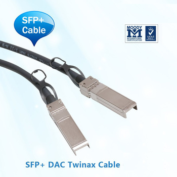 10G-SFPP-TWX-0501-Cable de cobre 5 m Compatible con brocado conectado directo SFP +