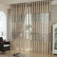 Ouneed Leaf Tulle Windows Curtains Drape Panel Scarf Home Decor Decorative Curtains 30