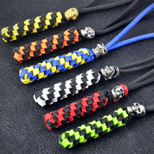 Wholesale and Factory Direct Handmade Paracord Lanyard for Key pendant.Knife drop.Flashlight hanging pendant
