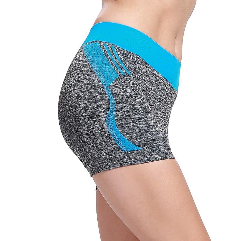 BESGO Yoga Shorts Women Medium Waistband Slimming Hiking