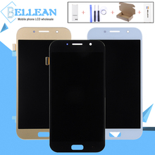 цены на Catteny 2017 A7 Lcd Touch Screen Digitizer Assembly For Samsung Galaxy A720 Lcd A720F SM-A720F Display Panel Free Shipping  в интернет-магазинах