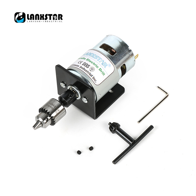New DC 24V 10000rpm 775 Motor Double Ball Bearings Mini PCB Hand Drill Press Drill Chuck 0.3~4mm JTO Miniature Electric Drill fitsain ball bearing 775 motor 24v 7000rpm mini pcb hand drill press nail b10 drill chuck 0 6 6mm electric drill