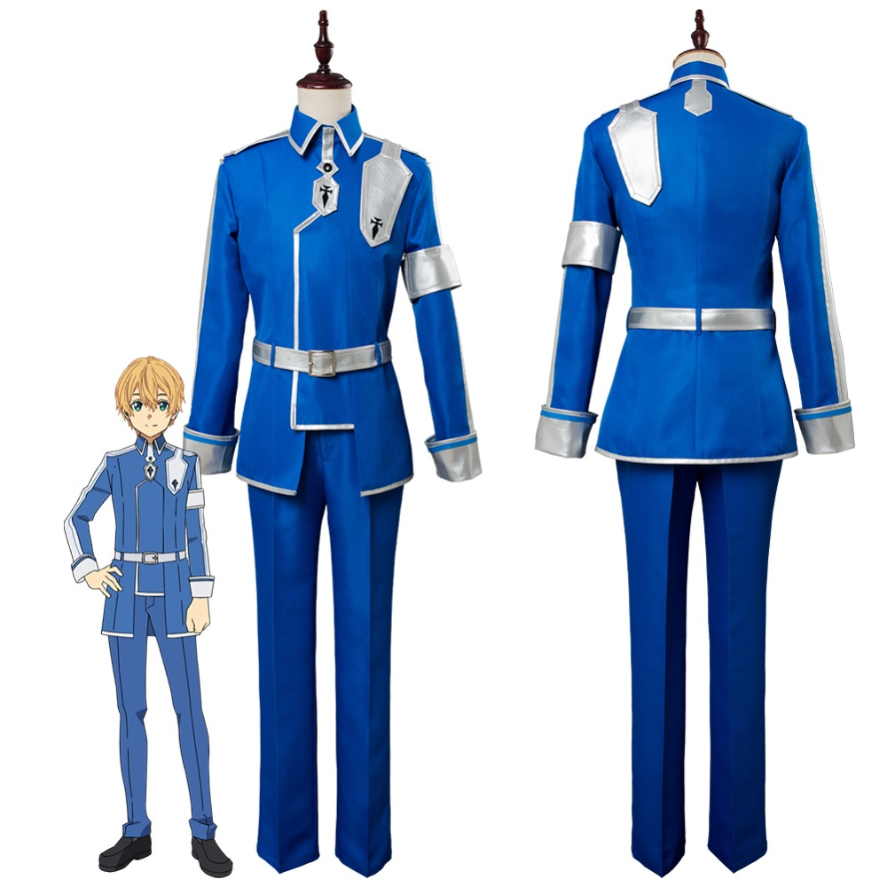 SAO Sword Art Online Alicization Eugeo Cosplay Costume Halloween Carnival Cosplay Costumes Custom Made