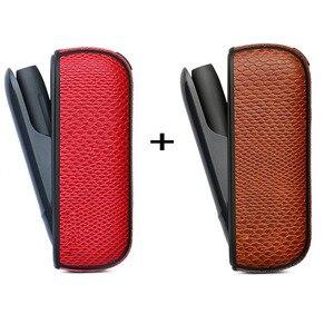 Image 3 - Jinxincheng 2Pc Lot Leather Case Voor Iqos 3 Cover Pouch Voor Iqos 3.0 Beschermende Houder Tas Accessoires