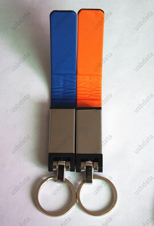 KEY Ring Zakelijk Leer USB 3.0 Flash Memory Stick Kaart Pen Drive 8 - Externe opslag - Foto 3