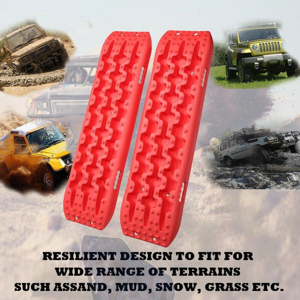 X-BULL NEW Sand Track 2pc Recovery Tracks 10T 4x4 Vehicle Sand/Snow/Mud Trax