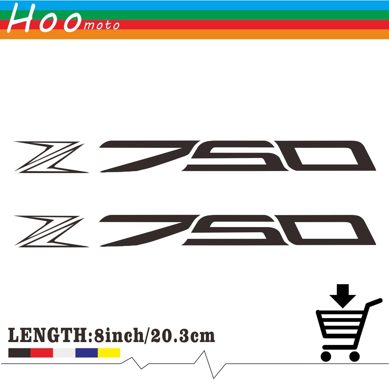 8in Reflective Sticker Decal Motorcycle Car Sticker Wheels Fairing Helmet Accessories Sticker Decal For Kawasaki Z750 Z 750