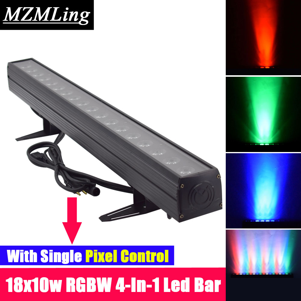 Commercial Lighting Stage Lighting Effect 24x4w Rgbw 4in1 Led Wall Wash Light Washer Beam Lighting Dmx512 Indoor Flood Down Lighting For Dj Disco Party Wedding Bar Stage