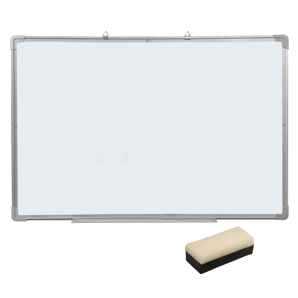 Affordable Magnetic Dry Wipe Whiteboard & Eraser Memo Teaching Board Kitchen Office (500 x 350mm)