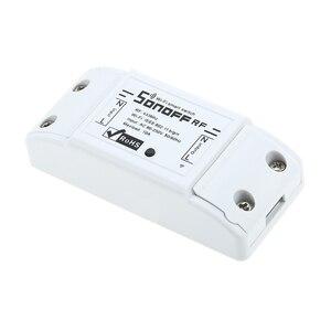 Image 2 - Умный радиочастотный Wi Fi переключатель RF 433 МГц 10 А/2200 Вт беспроводной переключатель 86 Тип Переключатель ВКЛ/ВЫКЛ 433 мгц радиочастотный Wi Fi пульт дистанционного управления Передатчик