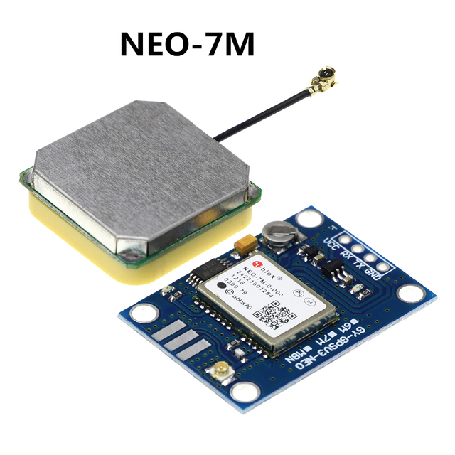 NEO-7M Flight Controller GPS Module NEO7M Built-in Data Memory Replace NEO-6M