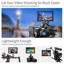 FEELWORLD T756 7 дюймов 4 К монитор HDMI 1920×1200 ips 4 К Камера поле монитор с обострением фокус накладные Цвета Зебра экспозиции