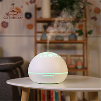 GX Diffuser 7 LED Night Light Aroma Diffuser Electric Humidifier Aromatherapy Ultrasonic Essential Oil Aroma Diffuser